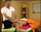Wellness-Massage Rücken